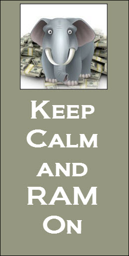 keep calm and RAM on